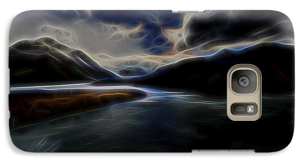 Galaxy Case featuring the digital art Glacial Light 1 by William Horden