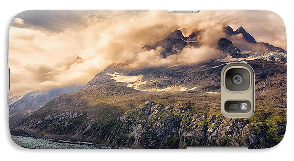 Galaxy Case featuring the photograph Glacier And Peaks-glacier Bay National Park by Janis Knight