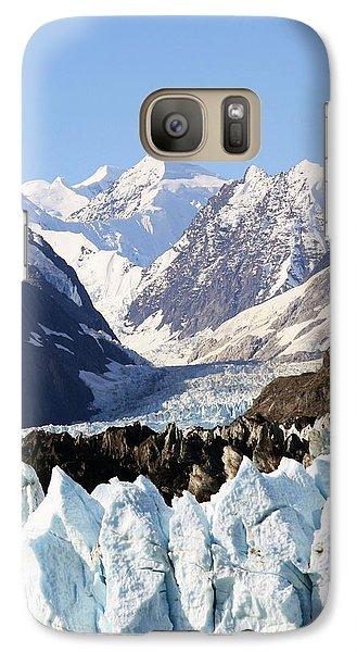 Galaxy Case featuring the photograph Glacier Bay Alaska by Sonya Lang