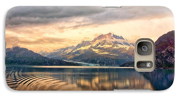 Galaxy Case featuring the photograph Glacier Bay Reflections by Janis Knight