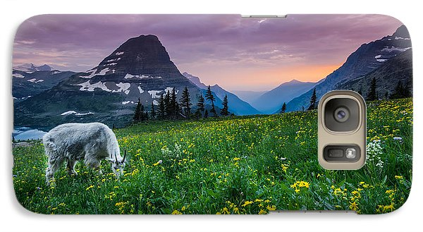 Goat Galaxy S7 Case - Glacier National Park 4 by Larry Marshall