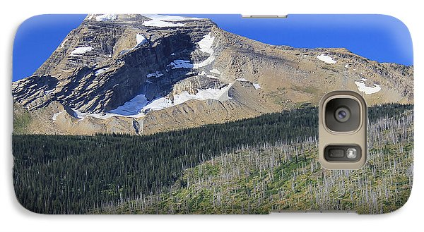 Galaxy Case featuring the photograph Glacier National Pk Mt by Kathleen Scanlan