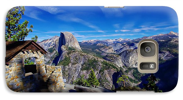 Glacier Point Yosemite National Park Galaxy Case by Scott McGuire