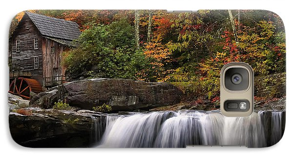 Glade Creek Grist Mill - Photo Galaxy S7 Case