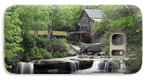 Galaxy Case featuring the photograph Glade Creek Grist Mill by Robert Camp