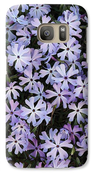 Galaxy Case featuring the photograph Glade Phlox by Daniel Reed
