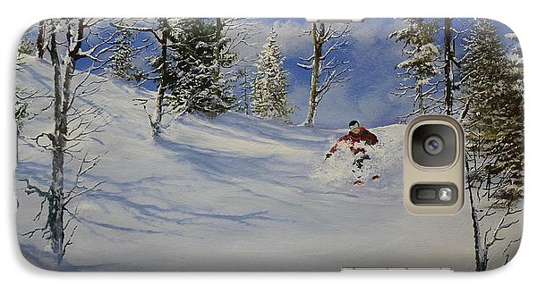Galaxy Case featuring the painting Glade Runner by Ken Ahlering
