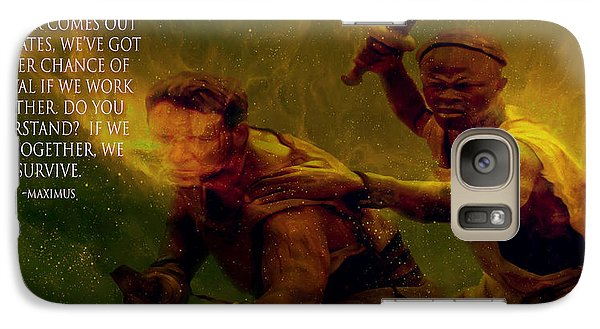 Galaxy Case featuring the photograph Gladiator  by Brian Reaves