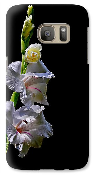 Galaxy Case featuring the photograph Gladiola by Farol Tomson