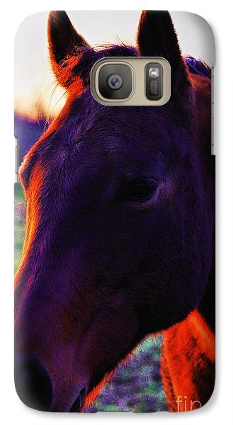 Galaxy Case featuring the photograph Glamour Shot by Robert McCubbin