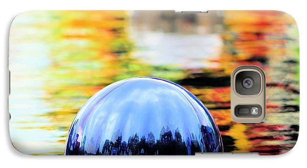 Galaxy Case featuring the photograph Glass Floats by Elizabeth Budd