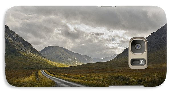 Galaxy Case featuring the photograph Glen Etive In The Scottish Highlands by Jane McIlroy