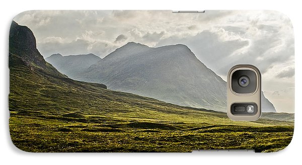 Galaxy Case featuring the photograph Glencoe Scotland by Sally Ross