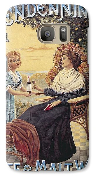 Galaxy Case featuring the photograph Glendenning's Beef And Malt Wine Ad by Gianfranco Weiss