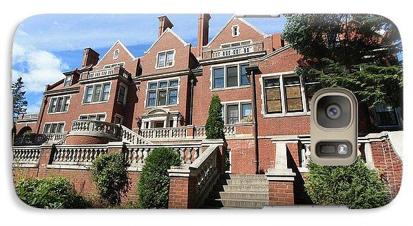 Glensheen Mansion Exterior Galaxy Case by Amanda Stadther