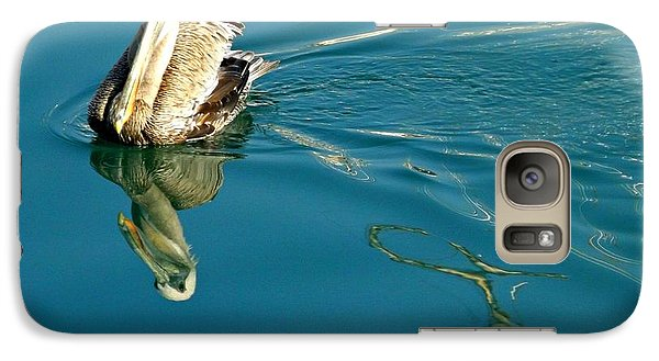 Galaxy Case featuring the photograph Gliding by Clare Bevan