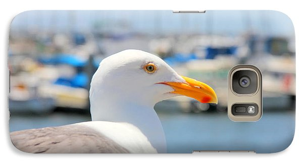 Galaxy Case featuring the photograph Glimpse by Nick David