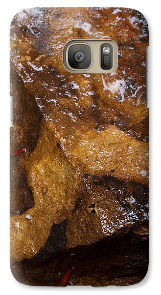 Galaxy Case featuring the photograph Glistening Stone by Haren Images- Kriss Haren
