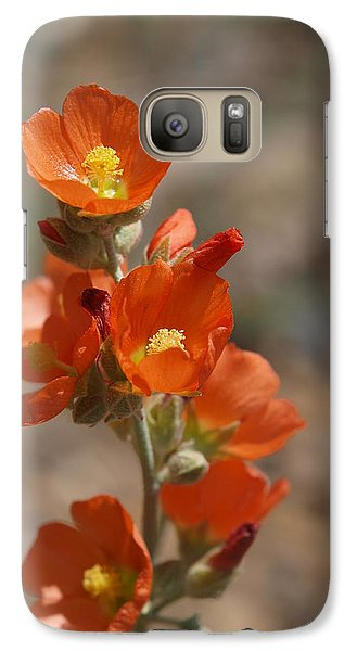 Galaxy Case featuring the photograph Globemallow by Jenessa Rahn