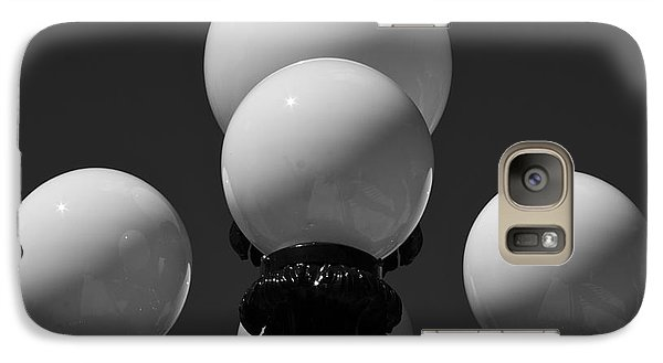 Galaxy Case featuring the photograph Globes by Linda Bianic