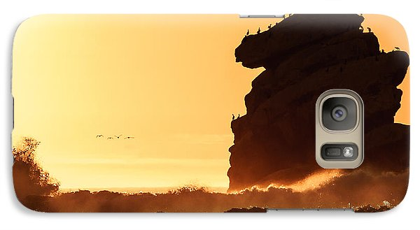 Galaxy Case featuring the photograph Glorious Afternoon At Morro Bay by Terry Garvin
