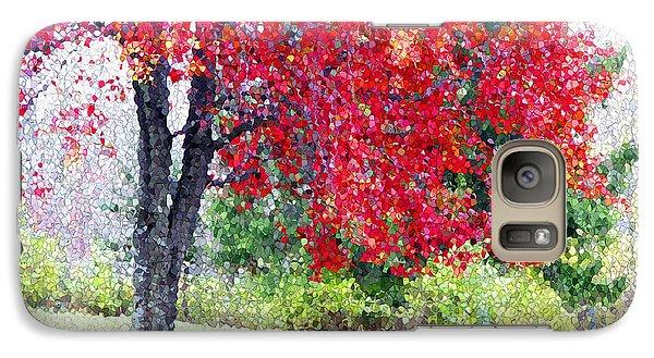 Galaxy Case featuring the photograph Glorious Autumn by Mariarosa Rockefeller