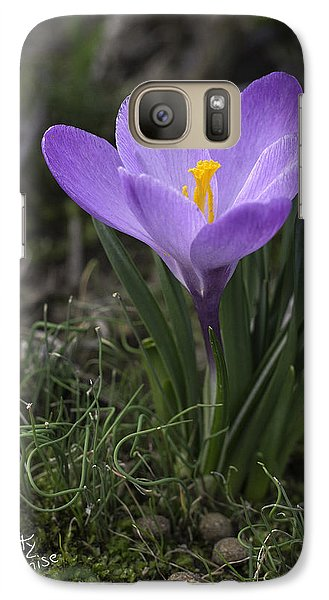 Galaxy Case featuring the photograph Glorious Crocus by Betty Denise