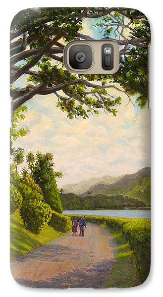 Galaxy Case featuring the painting Glorious Galway by Joe Bergholm