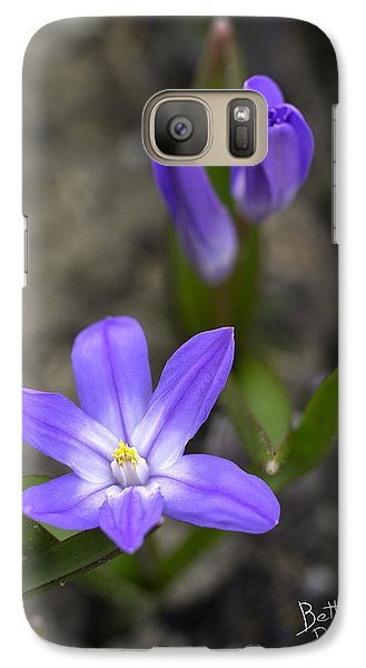 Galaxy Case featuring the photograph Glory Of The Snow by Betty Denise