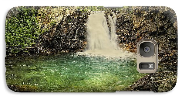 Galaxy Case featuring the photograph Glory Pool by Priscilla Burgers