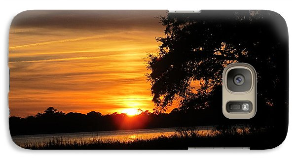 Galaxy Case featuring the photograph Glow Of Night by Joetta Beauford