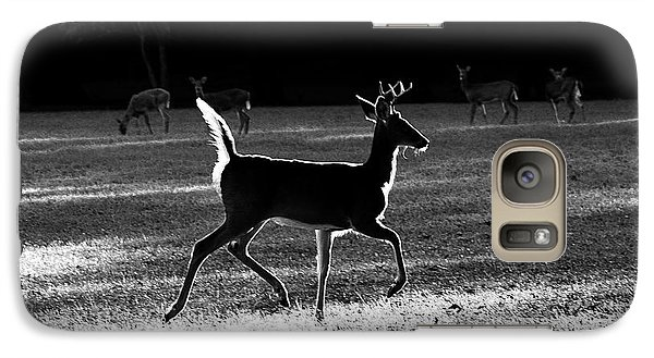 Galaxy Case featuring the photograph Glowing Buck by Lorna Rogers Photography