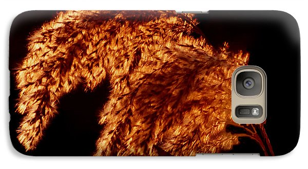 Galaxy Case featuring the digital art Glowing Embers by R Thomas Brass