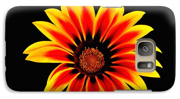 Galaxy Case featuring the photograph Glowing Flower by Marwan Khoury