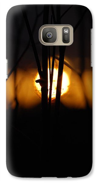 Galaxy Case featuring the photograph Glowing Lace by Jani Freimann