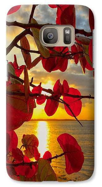 Glowing Red Galaxy S7 Case