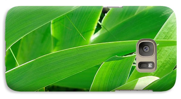 Galaxy Case featuring the photograph Go Green 2 by Chad and Stacey Hall