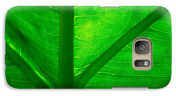 Galaxy Case featuring the photograph Go Green by Chad and Stacey Hall