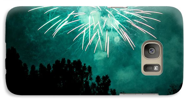 Galaxy Case featuring the photograph Go Green by Suzanne Luft