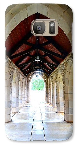 Galaxy Case featuring the photograph Go Into The Light by Deena Stoddard