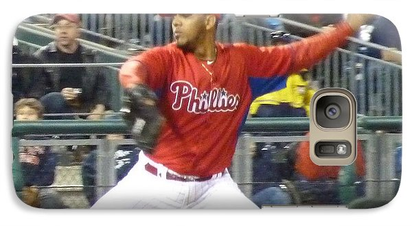 Galaxy Case featuring the photograph Go Phillies by Jeanette Oberholtzer