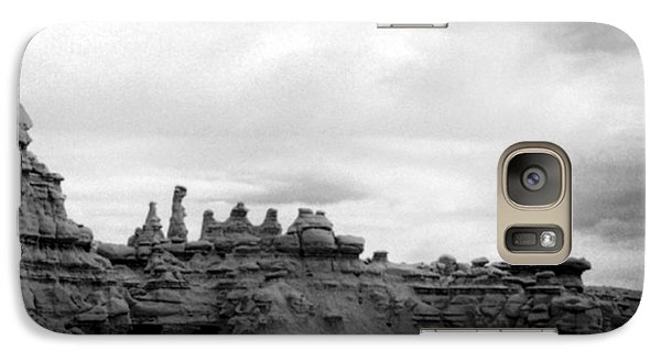 Galaxy Case featuring the photograph Goblin Valley by Tarey Potter