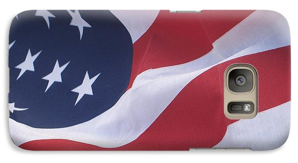 Galaxy Case featuring the photograph God Bless America by Chrisann Ellis