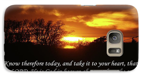 Galaxy Case featuring the photograph God In Heaven by Robyn Stacey