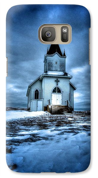 Galaxy Case featuring the photograph God It's Cold by Kevin Bone
