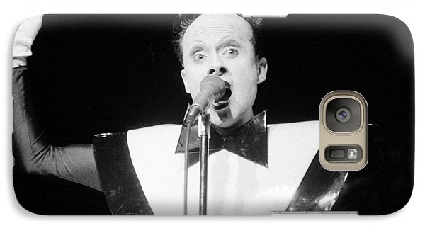Galaxy Case featuring the photograph God Klaus Nomi by Steven Macanka