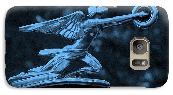 Galaxy Case featuring the photograph Goddess Hood Ornament  by Patrice Zinck