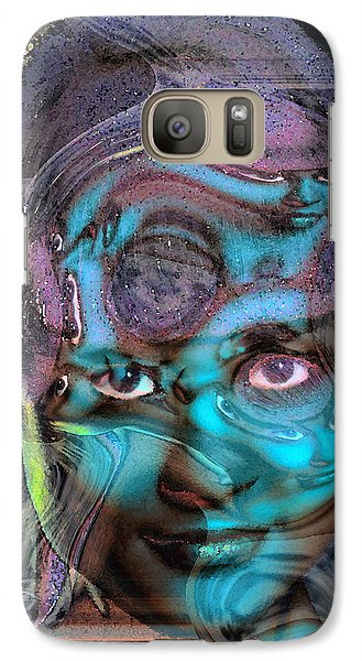 Galaxy Case featuring the photograph Goddess Of Love And Confusion by Richard Thomas