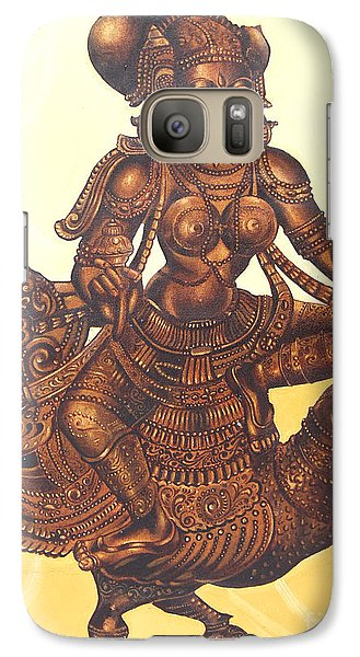 Galaxy Case featuring the painting Goddess Of Love by Ragunath Venkatraman