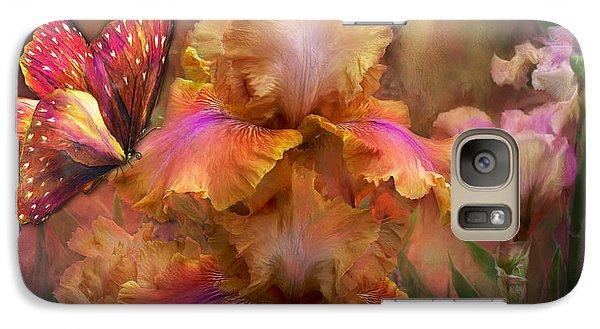Goddess Of Sunrise Galaxy S7 Case by Carol Cavalaris